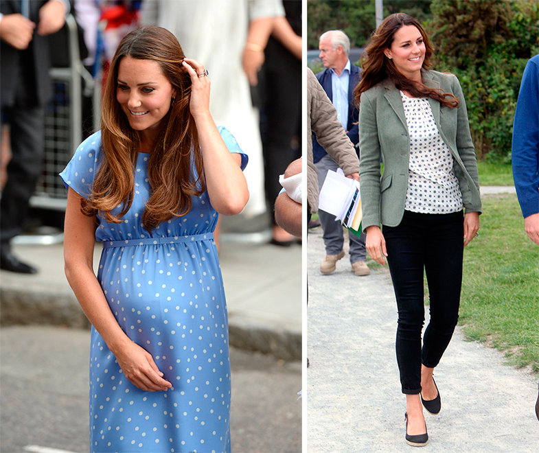 Kate Middleton después del parto
