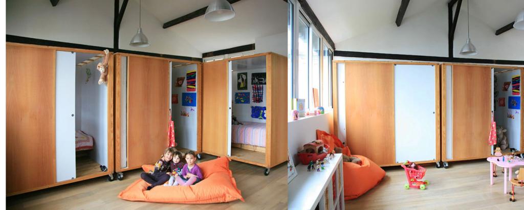 Habitación compartida 3 hermanas Ikea