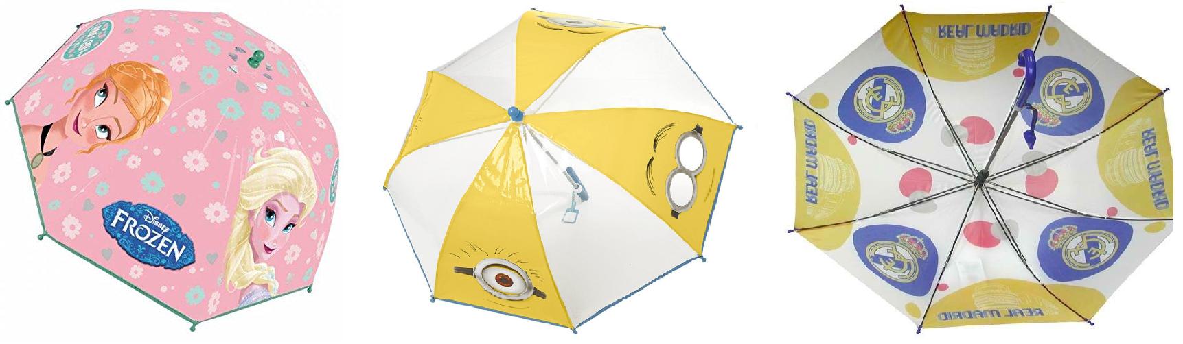 Moda para la lluvia - paraguas