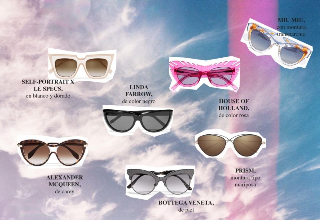 gafas estilo ojos de gato verano 2016