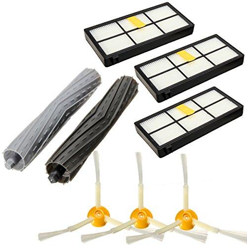 filtros aeroforce roomba - cepillos centrales y laterales - recambios para Roomba 866