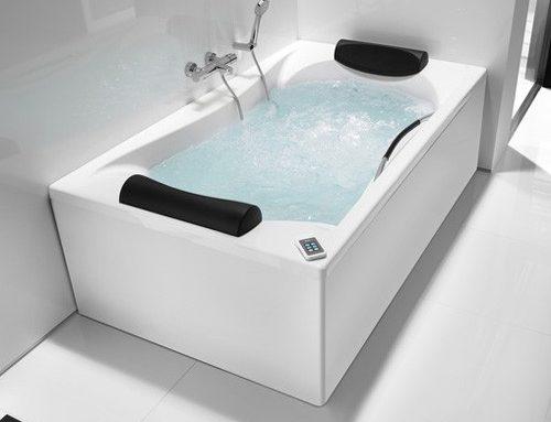 Tu bañera puede ser un elemento decorativo