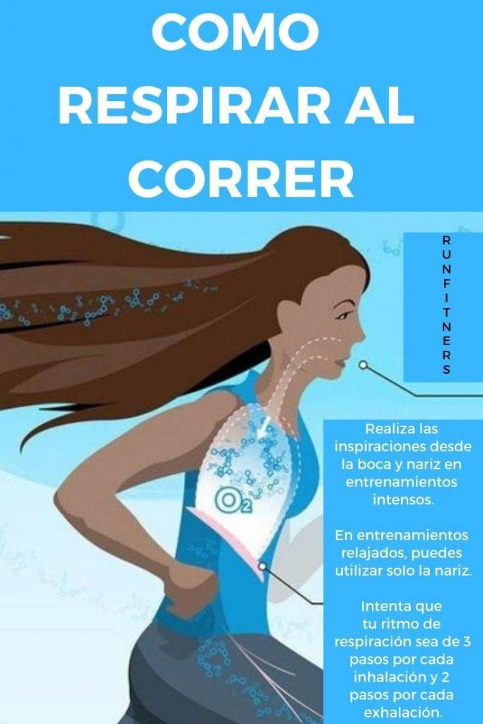 importancia de la respiración para correr