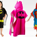 toallas con capucha para niños