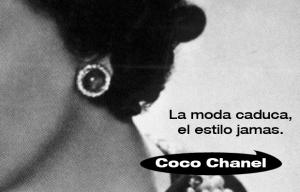 frase mítica Coco Chanel