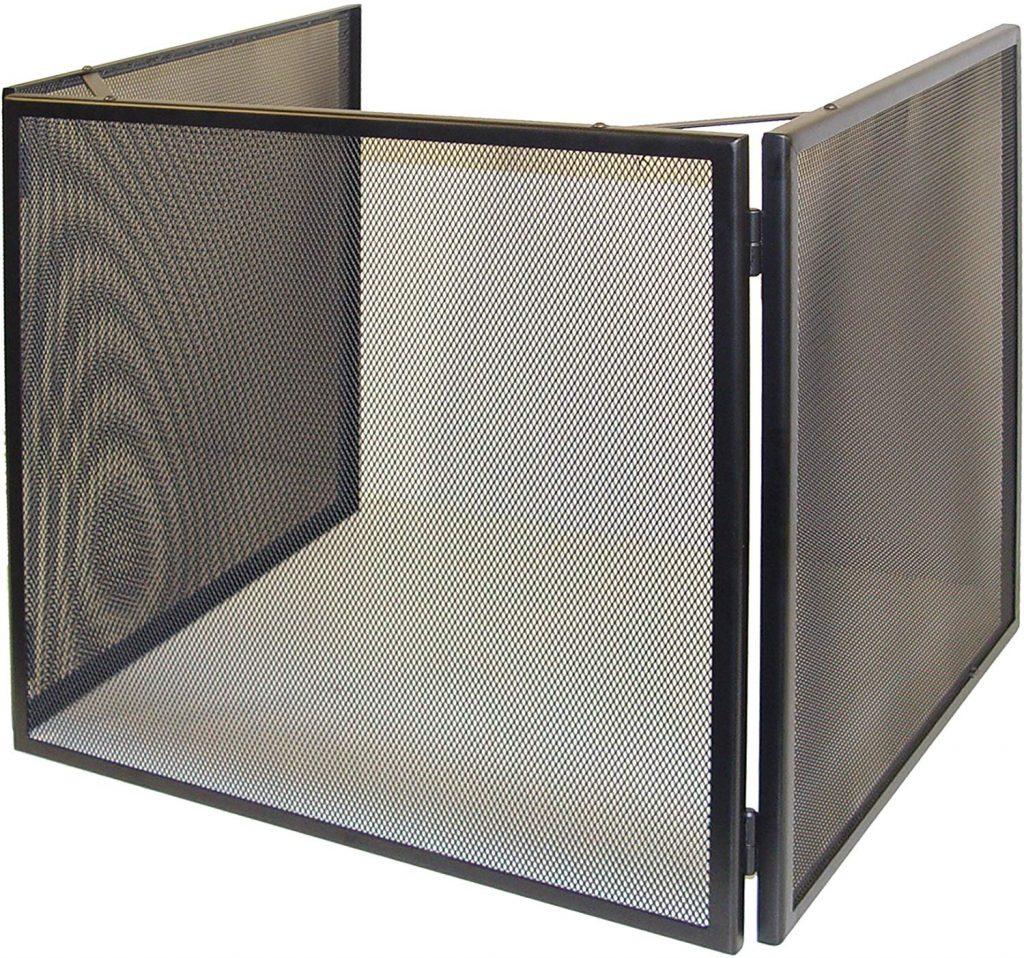 Salvachispas 3 paneles cuadrado