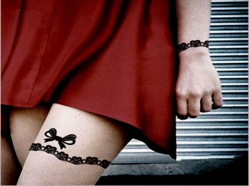 tatuajes chica - tattoo en la pierna