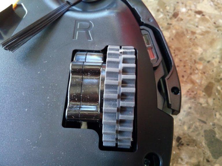 Roomba error 5 - Error en las ruedas laterales